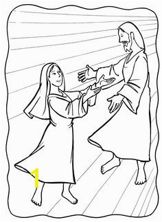 The Assumption of Mary Coloring Page