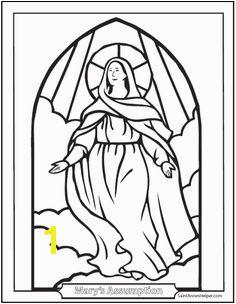 Assumption Of Mary Coloring Pages 782 Best Ccd Coloring Sheets Images
