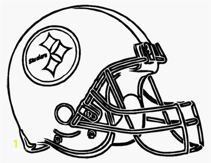 atlanta Falcons Helmet Coloring Page Best Chiefs Coloring Pages Popular Football Helmet Steelers Pittsburgh