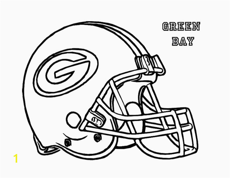 Green Bay Packers Coloring Pages New Gear Coloring Page Inspirational Football Helmet Green Bay Packers
