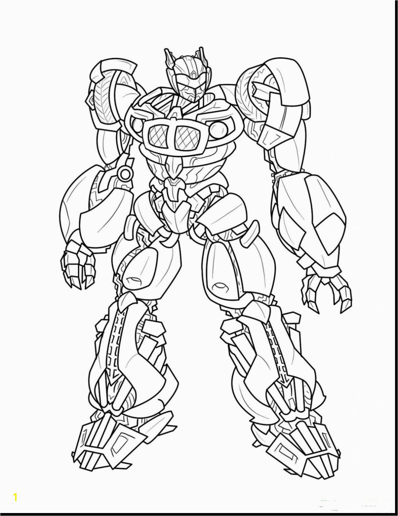 Transformer Coloring Pages Transformers Coloring Pages to Print Amazing Bumblebee Transformer Coloring Pages Printable New