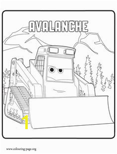 Avalanche Coloring Sheets of Planes 2 Fire en Rescue Picture