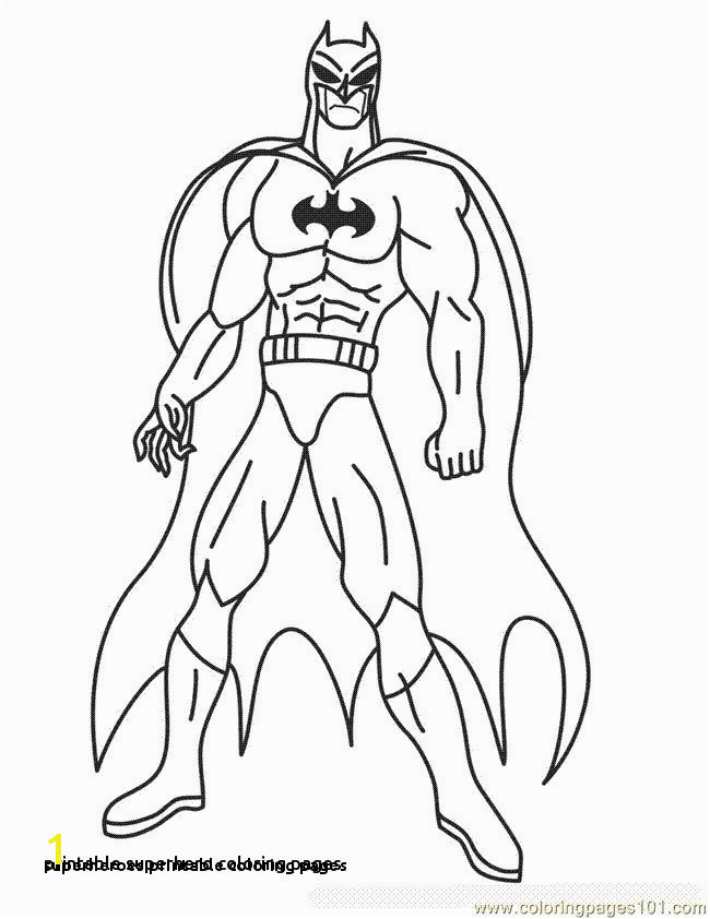 Superheroes Printable Coloring Pages Superhero Drawings 0 0d Spiderman Rituals You Should Know In 0 for