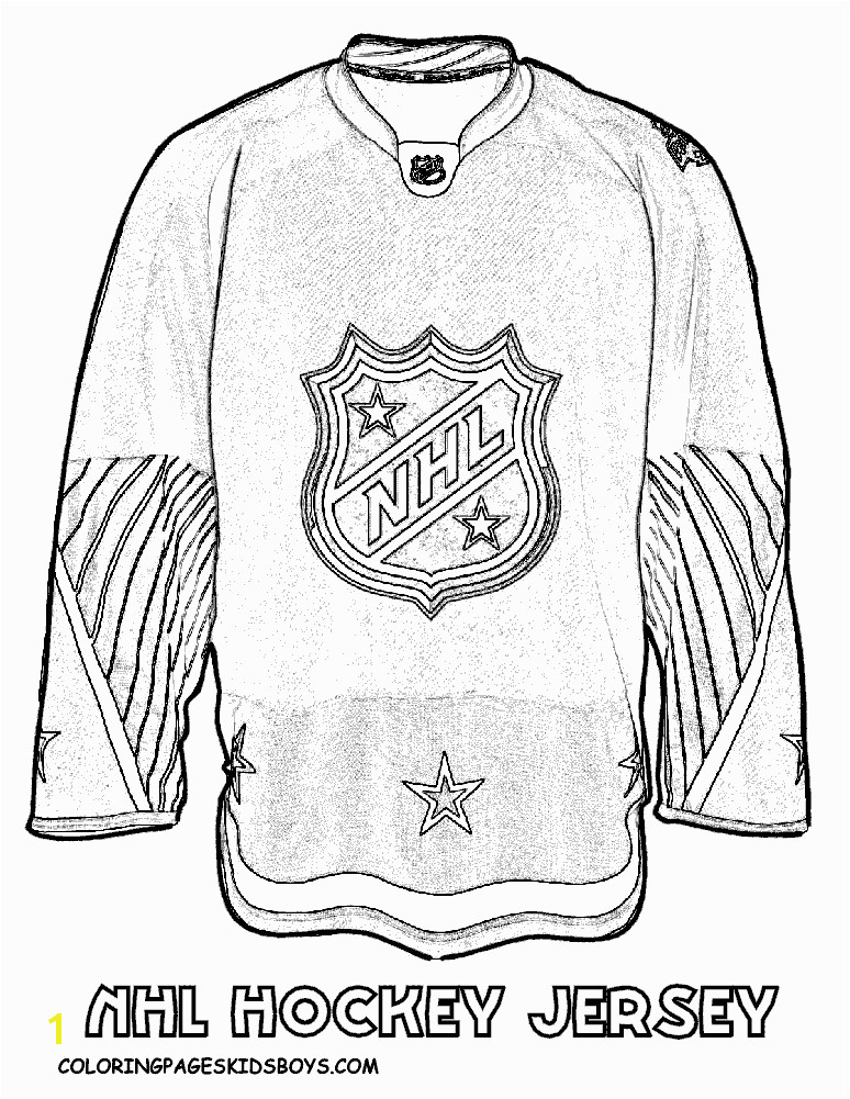 NHL worksheets for kids