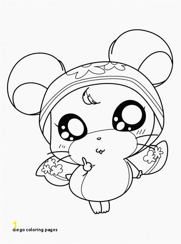Diego Coloring Pages Diego 09 Coloring Page Free Go Diego Go