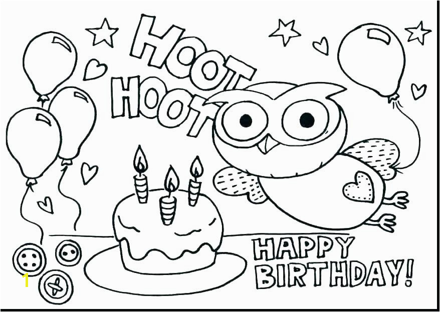 B is for butterfly Coloring Page Luxury Happy Birthday Pages to Color Happy Birthday Coloring Pages
