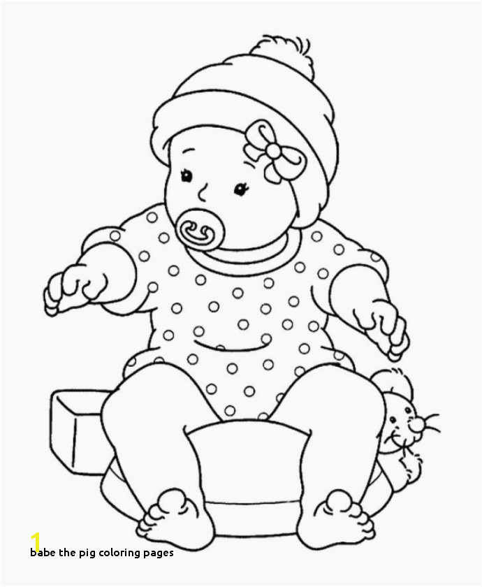 Best Baby Printable Coloring Pages asoboo Info