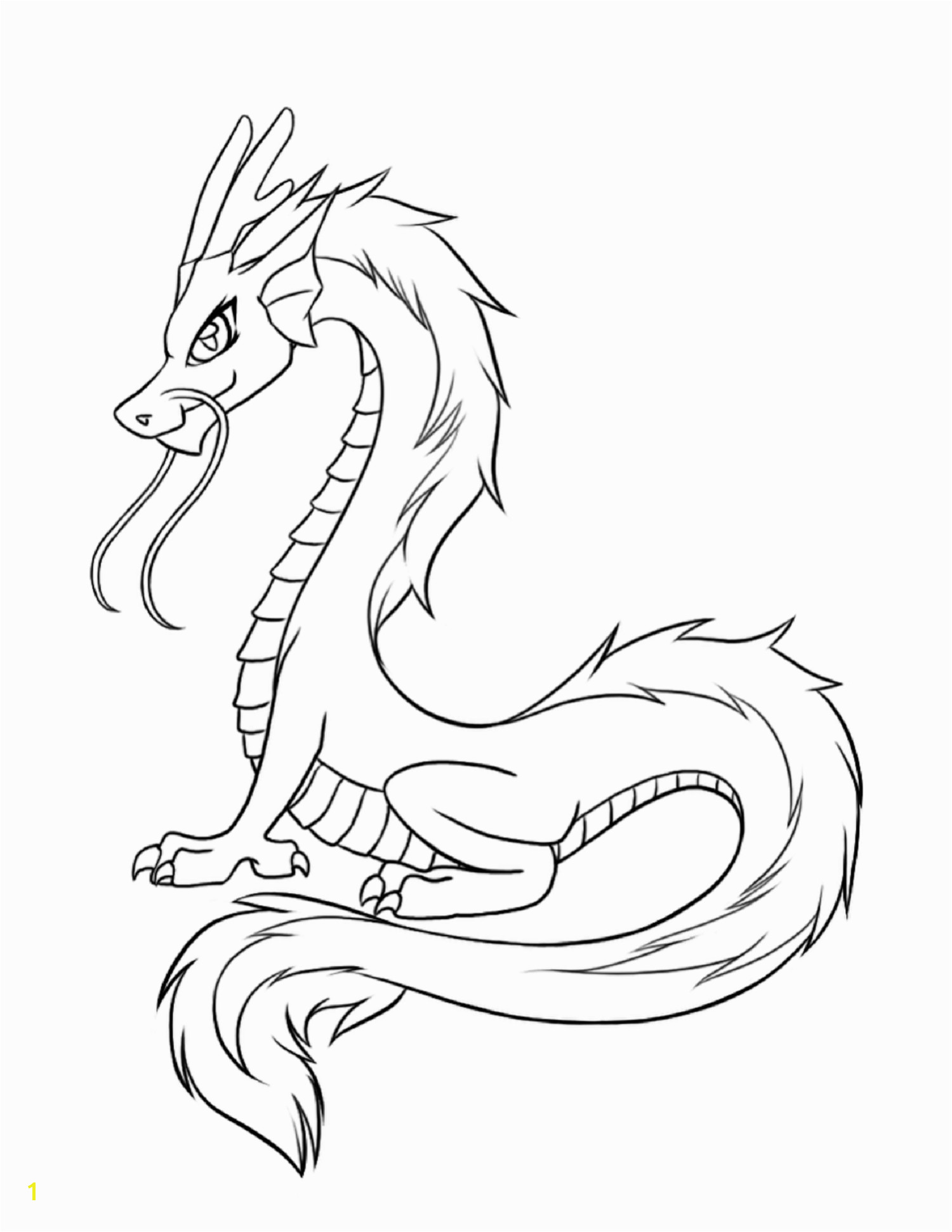 Dragon Coloring Pages for Fun Coloring