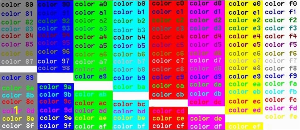 CMD colors 2