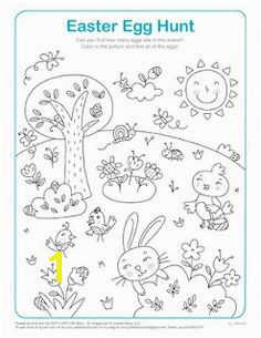 Sweet colour in page Easter Coloring Pages Egg Coloring Coloring Book Easter Party
