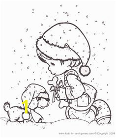 Snowwy day Precious Moments coloring pages Precious Moments Coloring Pages Coloring Pages For