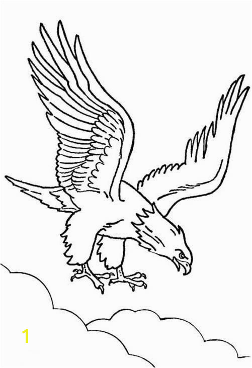Bald Eagle Coloring Page 20 Cute Eagle Coloring Pages For Your