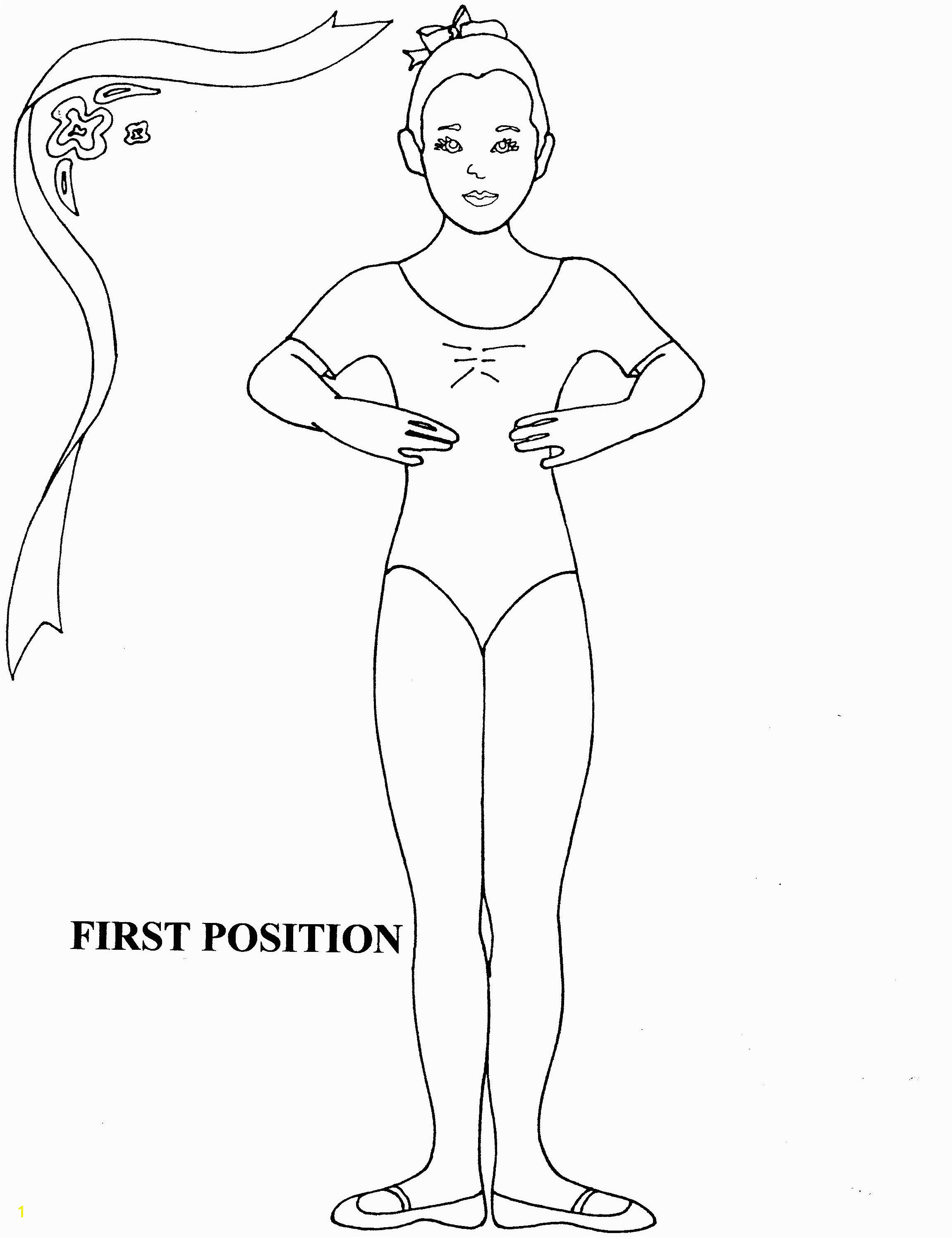 Ballerina Coloring Pages Pdf Ballerina Kristyn is Training Coloring Pages Giselle Main Character