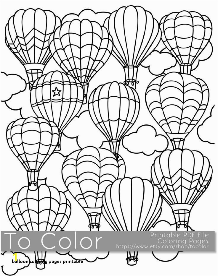 Balloon Coloring Pages Printable Balloon Coloring Pages Inspirational Drawing Printables 0d Archives