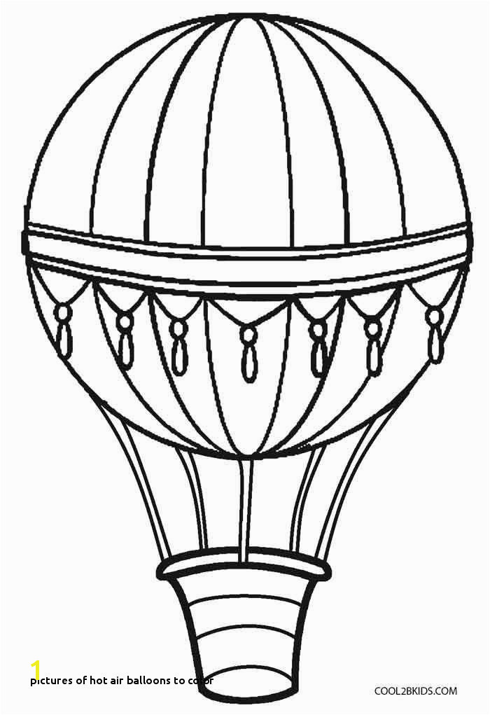 Balloon Coloring Pages Inspirational Drawing Printables 0d Archives