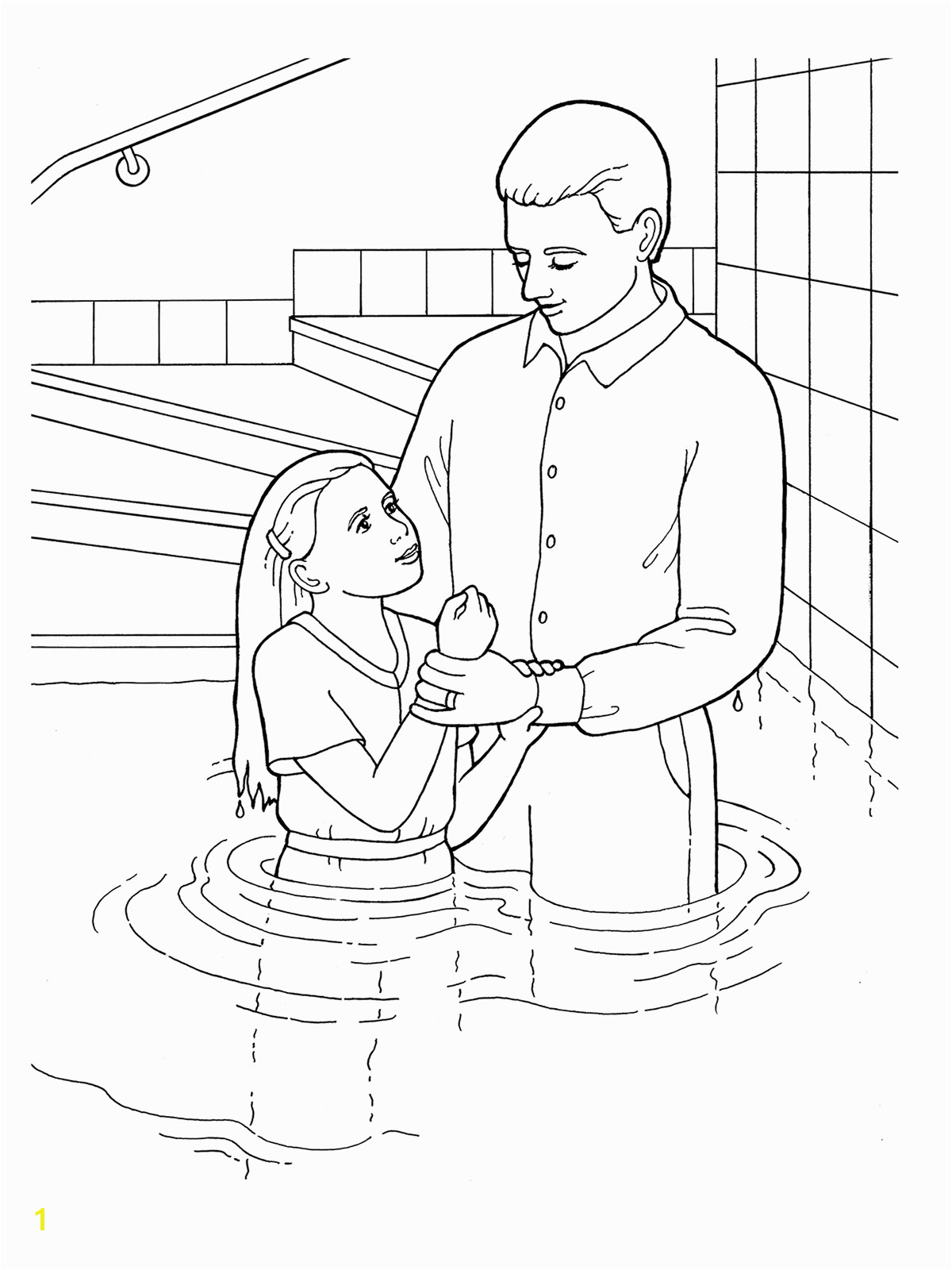 Baptism Coloring Pages New Baptism Coloring Sheet Collection