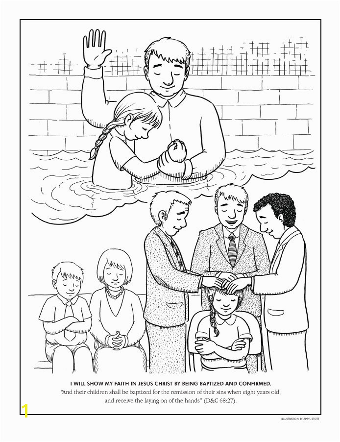 Baptism Coloring Pages Printables Coloring Pages Baptism Lds