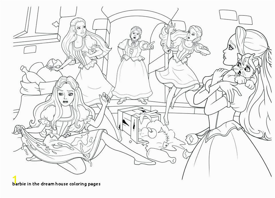 Barbie In the Dream House Coloring Pages Barbie In the Dream House Coloring Pages Fresh Printable Coloring