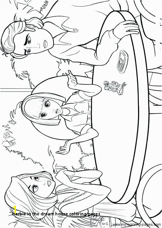 Barbie In the Dream House Coloring Pages Barbie In the Dream House Coloring Pages Fresh Printable