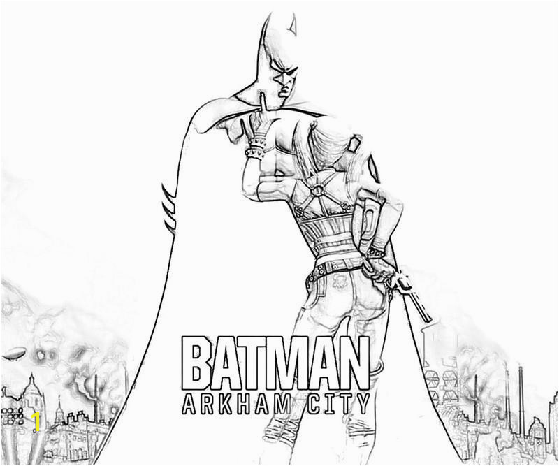 Batman Arkham Knight Coloring Pages Batman Arkham City Coloring Pages Batman Arkham Knight Coloring