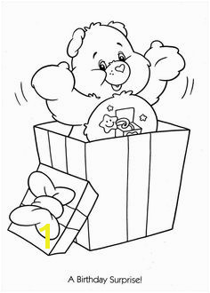 Care Bears birthday surprise coloring page Bear Coloring Pages Coloring Pages For Kids Coloring