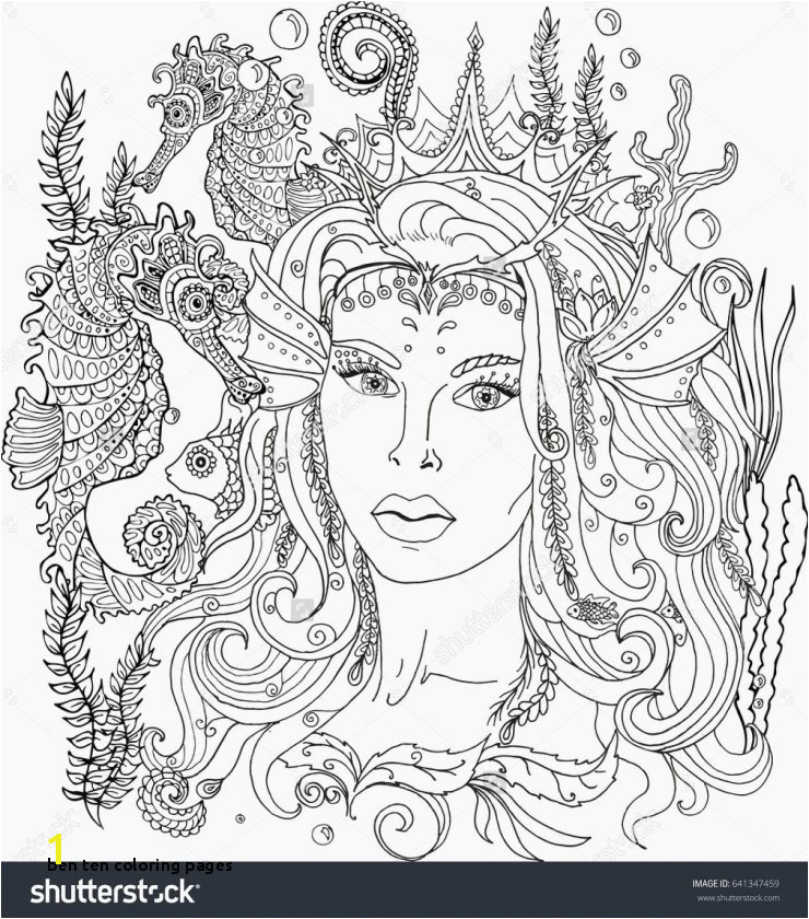 Ben Ten Coloring Pages Beautiful Hair Coloring Pages New Line Coloring 0d Archives Con Scio