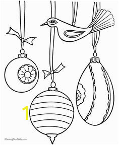 Free Printable Ornament Coloring Page Wallpaper Christmas Tree Coloring Page Christmas Tree Ornaments Printable