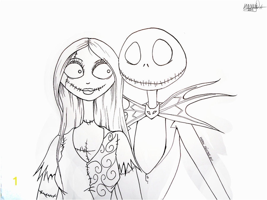 Elegant Jack Skellington Coloring Pages 66 In Picture Coloring nightmare before christmas