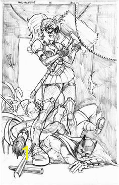 Harley Quinn Pin up by Jadededge on DeviantArt Batman Coloring Pages Coloring Book Pages