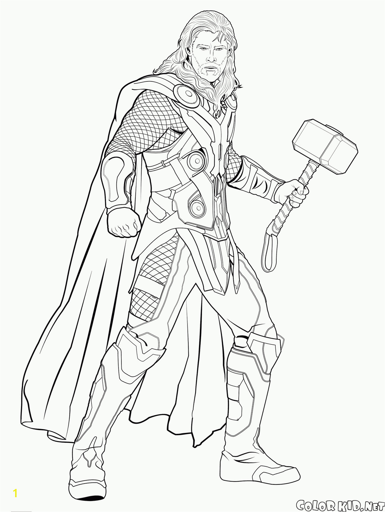 Coloring Page Black Widow Genial Thor Ausmalbilder