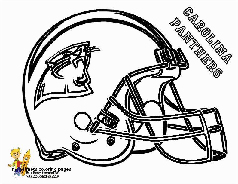 Nfl Helmets Coloring Pages Blank Football Jersey Coloring Page Free Collection