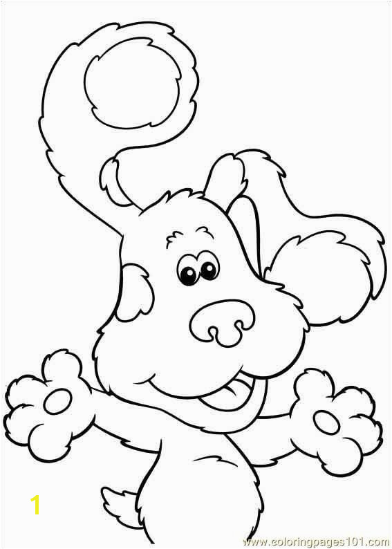 Blues Clues 19 coloring page Free Printable Coloring Pages