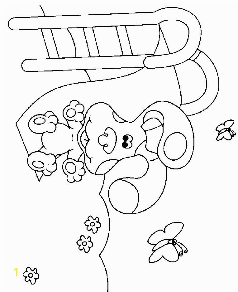 Playground Coloring Pages New Blues Clues Coloring Pages Unique Picture to Coloring Page Best 16