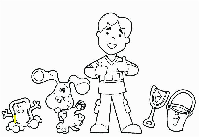 Blues Clues Coloring Pages Wayward Girls Crafts Youre Invited Blues Clues Party Invite