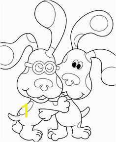 Useful of Blue s Clues Coloring Pages to Introduce Colors for Kids Coloring Pages