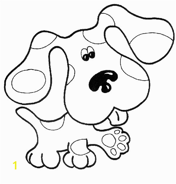 Nick Jr Coloring Sheets Best Blues Clues Coloring Pages Unique Picture to Coloring Page