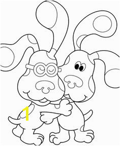 Blues Clues Coloring Pages To Print Coloring Pages To Print Free Printable Coloring Pages