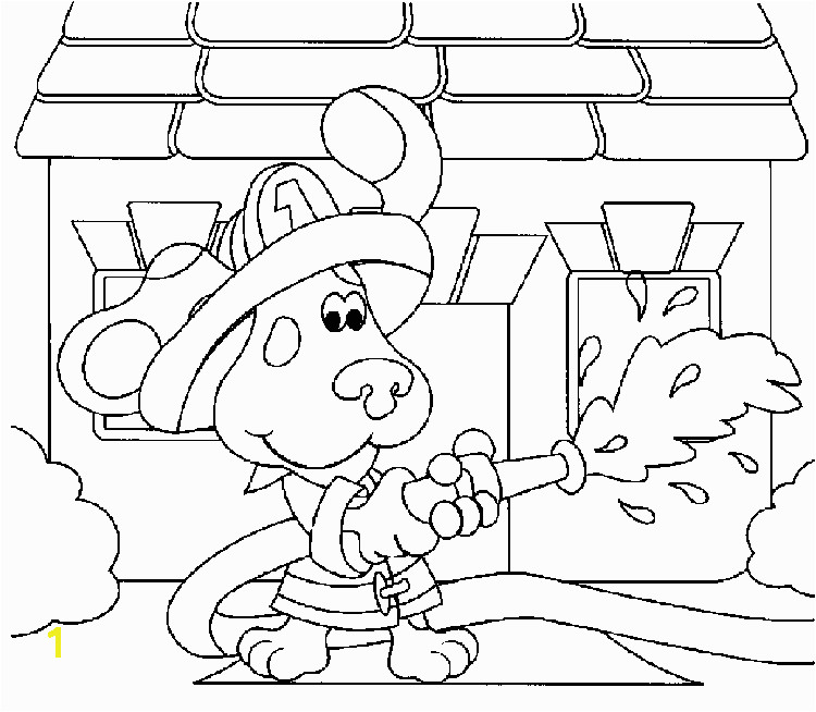 Blues Clues Coloring Pages Pdf Free Printable Blues Clues Coloring Pages for Kids