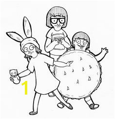 The ficial Bob s Burgers Coloring Pages Coloring Pages