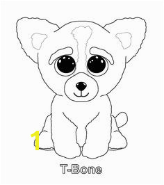 Ty beanie boo coloring pages and print for free Beanie Boo Dogs Ty Beanie