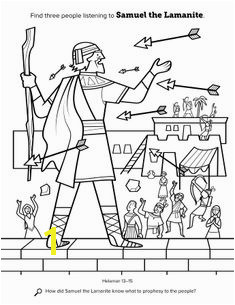 "coloring sheet"" Primary 1 Lesson 8 Location in the scriptures Helaman 13–15 Search the scriptures"