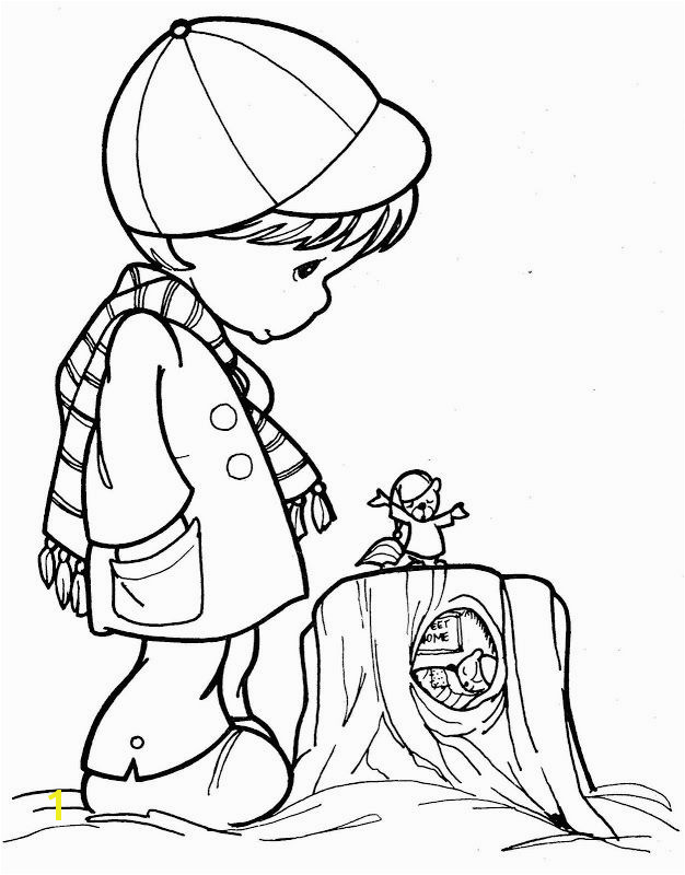 420 Best Precious Moments Coloring Pinterest Little Boy Coloring Pages to Print