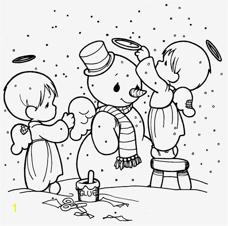 Engel Ausmalbilder Zum Ausdrucken Inspiration Making Snowman Precious Moments Coloring Pages