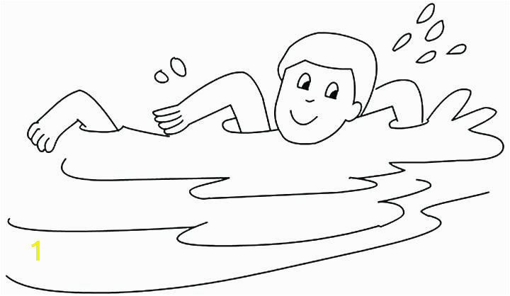 Boy Swimming Coloring Pages Elegant Boy Swimming Coloring Pages Heart Coloring Pages