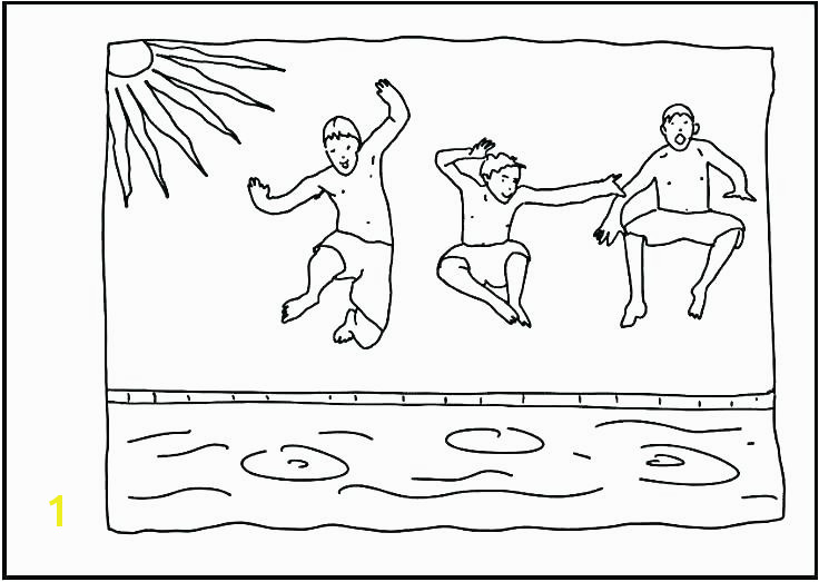 swimming coloring pages swimming coloring pages co boy swimming coloring pages