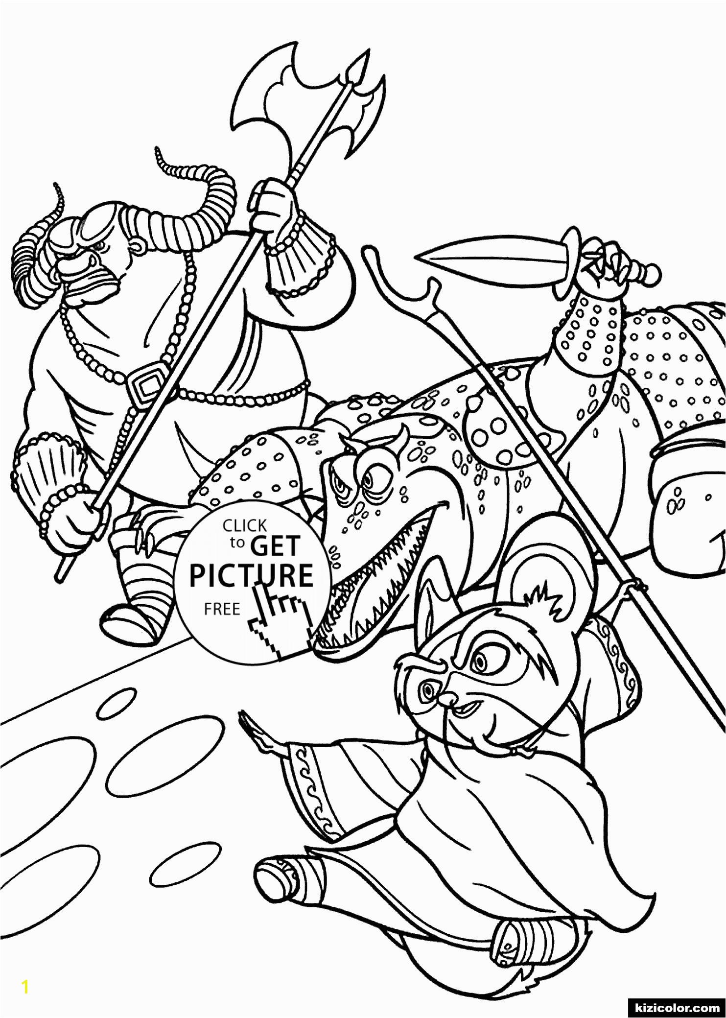 Bratz Ice Skating Coloring Pages Kung Fu Panda Master Shifu Free Printable Coloring Pages for Kids