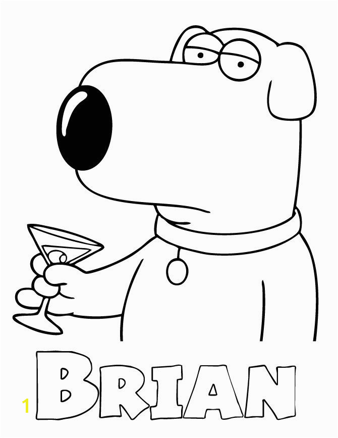 Family Guy Coloring Pages Inspirational Family Guy Coloring Pages 18luxury Family Guy Coloring Book Clip