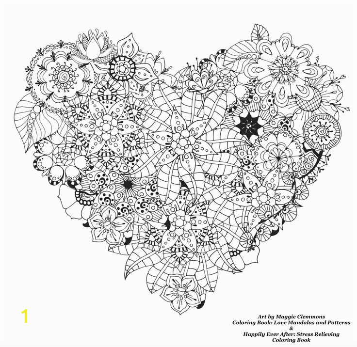Free coloring pages from Adult Coloring Worldwide Art by Maggie Clemmons Coloring Book Love Mandalas