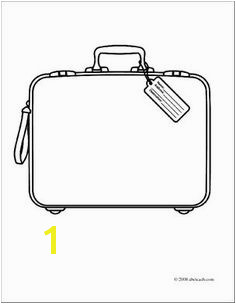 Briefcase Coloring Page 46 Best It S A Small World Images On Pinterest