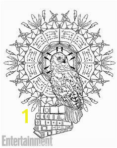 See a sneak peek inside Harry Potter Magical Creatures Coloring Book